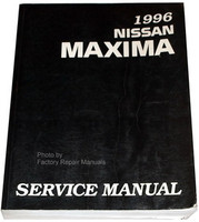 1996 Nissan Maxima Factory Shop Service Manual