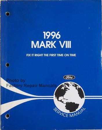 1996 lincoln mark viii factory service manual original shop repair rh factoryrepairmanuals com 1996 lincoln mark viii repair manual lincoln mark viii repair manual