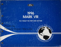 Ford 1996 Mark VIII Electrical & Vacuum Troubleshooting Manual