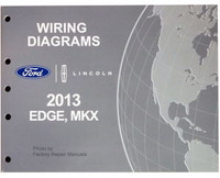 Wiring Diagrams Ford Lincoln 2013 Edge, MKX