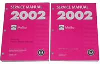 2002 Chevy Malibu Factory Service Manual Set - Original Shop Repair
