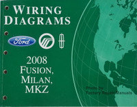 Wiring Diagrams Ford Mercury Lincoln 2008 Fusion, Milan, MKZ