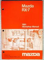 1981 Mazda RX-7 Factory Service Manual - RX7 Original Shop Service Repair RARE