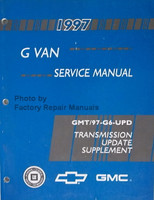 1997 GM G Van Service Manual Transmission Update Supplement