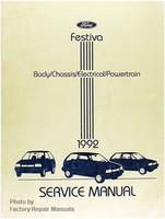 1992 Ford Festiva Factory Service Manual - Original Shop Repair