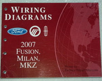 Wiring Diagrams Ford Mercury Lincoln 2007 Fusion, Milan, MKZ