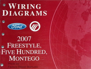 2007 ford freestyle five hundred mercury montego electrical wiring rh factoryrepairmanuals com