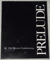 1996 HONDA PRELUDE Electrical Troubleshooting Manual - Original Factory Shop ETM