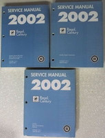 2002 Buick Century, Regal Service Manual Volume 1, 2, 3