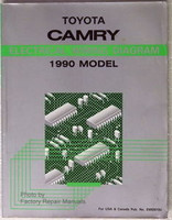 1990 Toyota Camry Electrical Wiring Diagrams - Factory Shop Manual