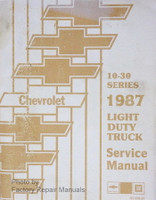 1987 Chevrolet 10-30 Series Light Duty Truck Service Manual