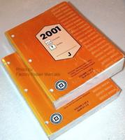 2001 Chevrolet Cavalier & Pontiac Sunfire Factory Shop Service Manual Set