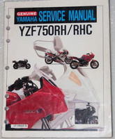1994 1996 YAMAHA YZF-750R Factory Service Manual YZF 750 R Original Shop Repair