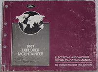 Ford Mercury 1997 Explorer Mountaineer Electrical & Vacuum Troubleshooting Manual