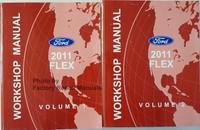 Ford 2011 Flex Workshop Manual Volume 1, 2