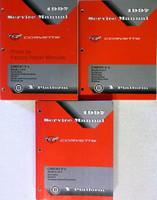 1997 Service Manual Chevrolet Corvette Volumes 1, 2, 3