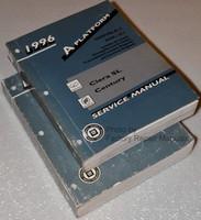 1996 Buick Century Olds Cutlass Ciera Factory Shop Service Manual Set