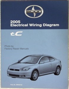 2005 scion tc electrical wiring diagrams original toyota factory rh factoryrepairmanuals com 2005 scion tc repair manual download 2005 scion xa repair manual