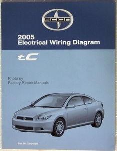 2005 scion tc electrical wiring diagrams original toyota factory rh factoryrepairmanuals com 2005 Scion tC Stick Shift 2005 Toyota Scion tC