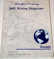 2001 Ford Escape Electrical Wiring Diagrams Original Manual