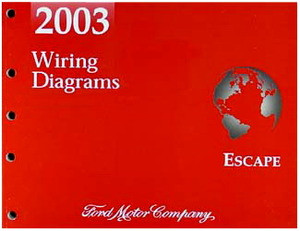 2003 ford escape electrical wiring diagrams original. Black Bedroom Furniture Sets. Home Design Ideas