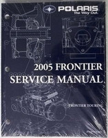 2005 Polaris Frontier Touring Snowmobile Factory Shop Service Repair Manual w/CD