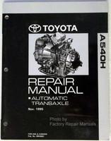 Toyota A540H Repair Manual Automatic Transaxle