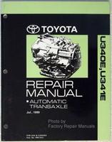 2000 2005 Celica, Echo, Yaris Automatic Transmission Repair Manual U340E U341E