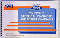 1991 Chevy C K Truck Electrical Diagnosis Manual, Wiring Diagrams 1500 2500 3500