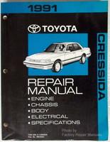 1991 Toyota Cressida Repair Manual