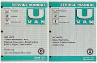 2005 U Van Service Manual Chevrolet Uplander Buick Terraza, Pontiac Montana Volume 1, 2