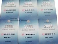 2008 Dodge Ram Truck Service Manual Volume 1, 2, 3, 4, 5, 6