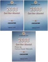 Chrysler 2008 Service Manual Crossfire Volume 1, 2, 3