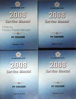 2008 Chrysler PT Cruiser Factory Service Manual Set - Original Shop Repair