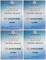 Chrysler 2008 Service Manual Dodge Caliber Volume 1, 2, 3, 4