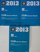2013 GM Chevrolet Sonic T/Car Service Manual Volume 1, 2, 3