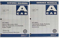 2005 Chevy Aveo, Pontiac Wave Factory Service Manual Set - Original Shop Repair