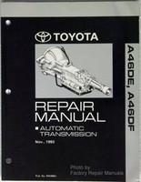 1991 1995 Toyota Previa Automatic Transmission Repair Manual A46DE A46DF
