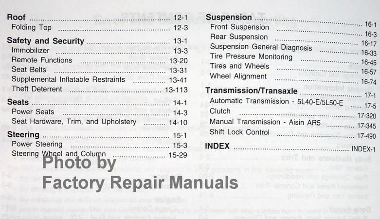 2008 pontiac solstice and saturn sky factory shop service manual set rh factoryrepairmanuals com Repair Manuals Parts Manual