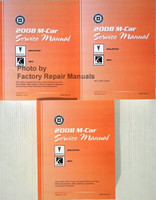 2008 M Car Service Manual Pontiac Solstice Saturn Sky Volume 1, 2, 3