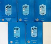 2001 Sierra, Silverado, Tahoe, Suburban, Yukon Service Manuals GM CK8 Platform