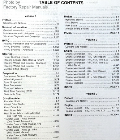 2001 chevy silverado gmc sierra tahoe suburban yukon factory rh factoryrepairmanuals com 1999 GMC Sierra 2011 GMC Sierra Owner's Manual