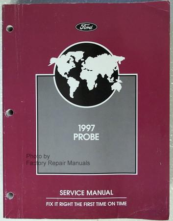 1997 ford probe factory service manual original dealer shop repair rh factoryrepairmanuals com 1991 Ford Probe 2000 Ford Probe