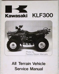 1986 1987 kawasaki bayou 300 atv factory service manual klf300 a1 a2 rh factoryrepairmanuals com klf 300 service manual klf 300 workshop manual