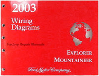 2003 Ford Explorer and Mercury Mountaineer Electrical Wiring Diagrams Manual