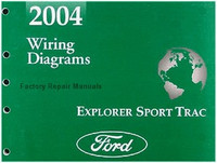2004 Ford Explorer Sport Trac Pickup Truck Electrical Wiring Diagrams Manual