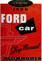 1956 Ford Car & Thunderbird Factory Shop Service Manual CD
