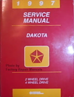 1997 Dodge Dakota Service Manual