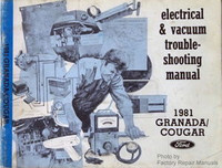 Ford Electrical & Vacuum Troubleshooting Manual 1981 Granada/Cougar