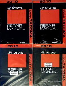 2010 toyota tacoma factory service manual set original shop repair rh factoryrepairmanuals com 1996 Toyota Tacoma Repair Manual 1996 Toyota Tacoma Repair Manual